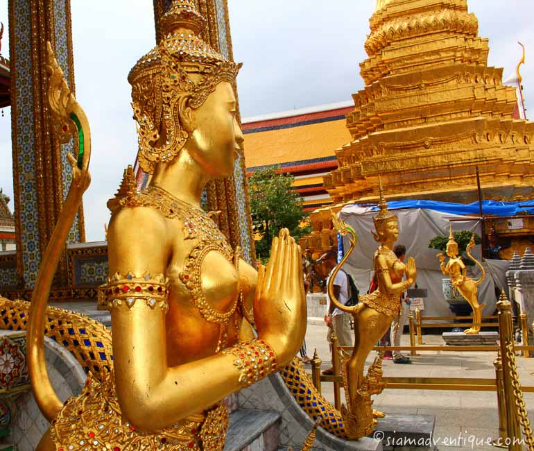 Angels and Divinities at the Grand Palace
