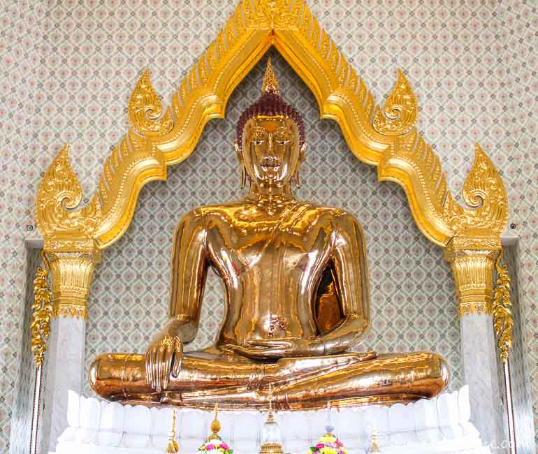 The Gold Buddha at Wat Traimit
