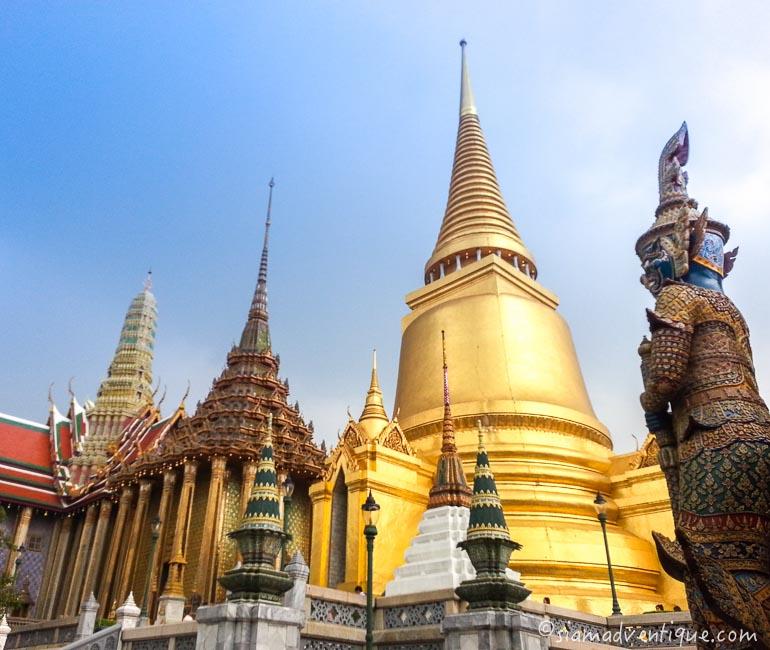 The Upper Terrace at Wat Phra Kaew