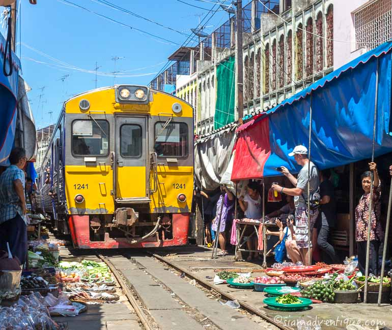 Floating Market and Railway Market