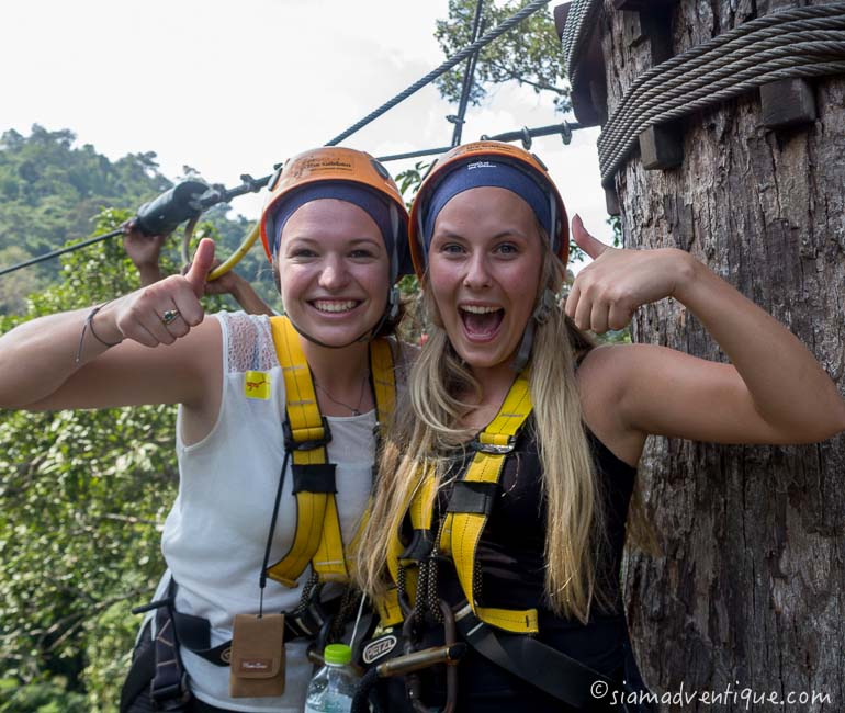 Flight of the Gibbon Zipline in Pattaya