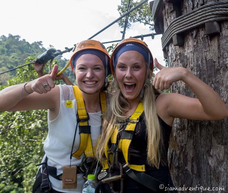 Flight of the Gibbon Zipline in Pattaya