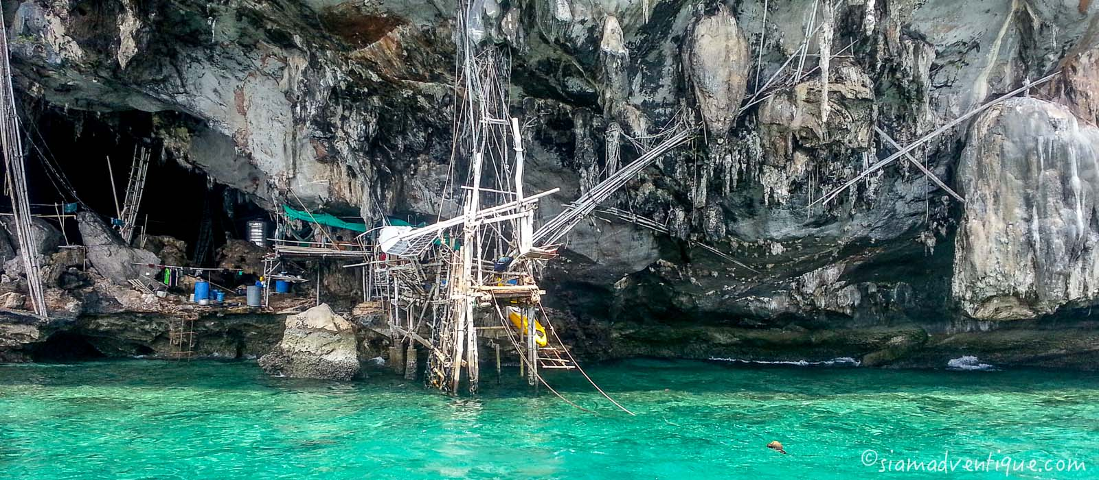 Viking Cave in Phi Phi Islands
